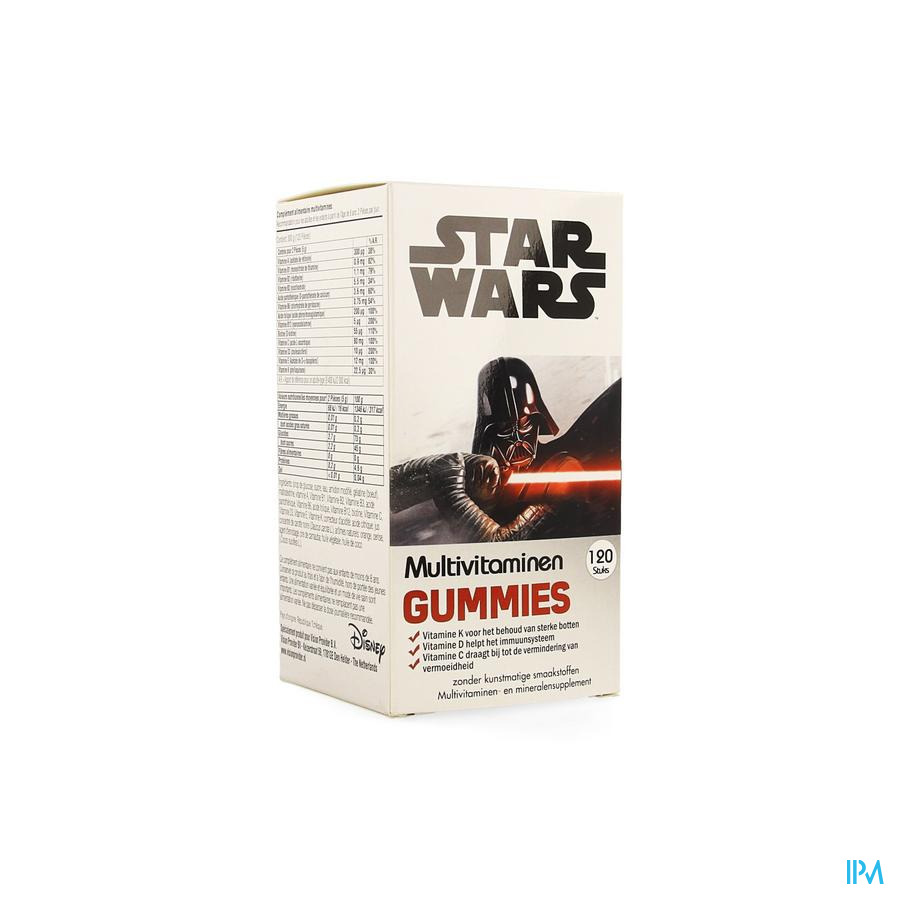 DISNEY MULTIVITAMINES STAR WARS 120 GUMM