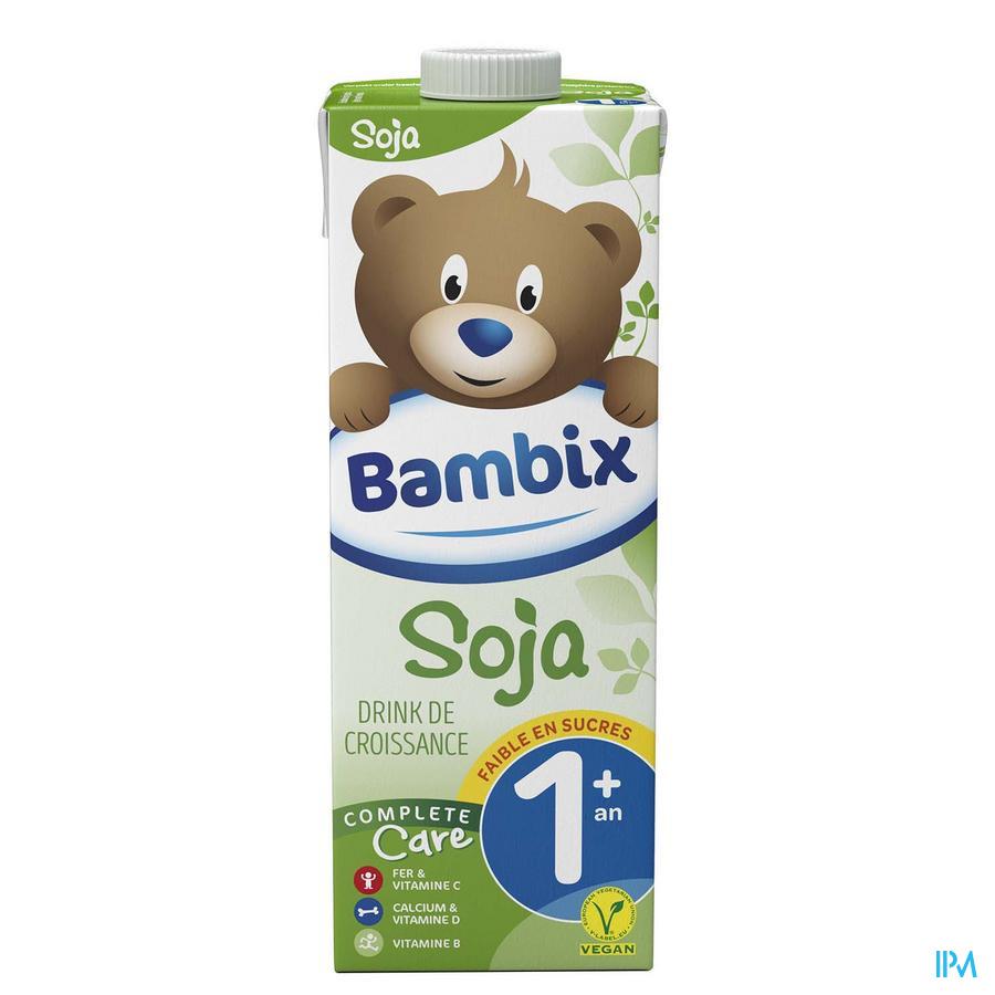 Bambix Lait Croissance Soja 1+ 1l
