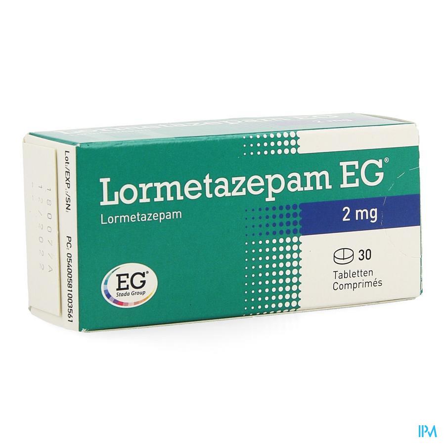 Lormetazepam Eg Comp 30 X 2mg