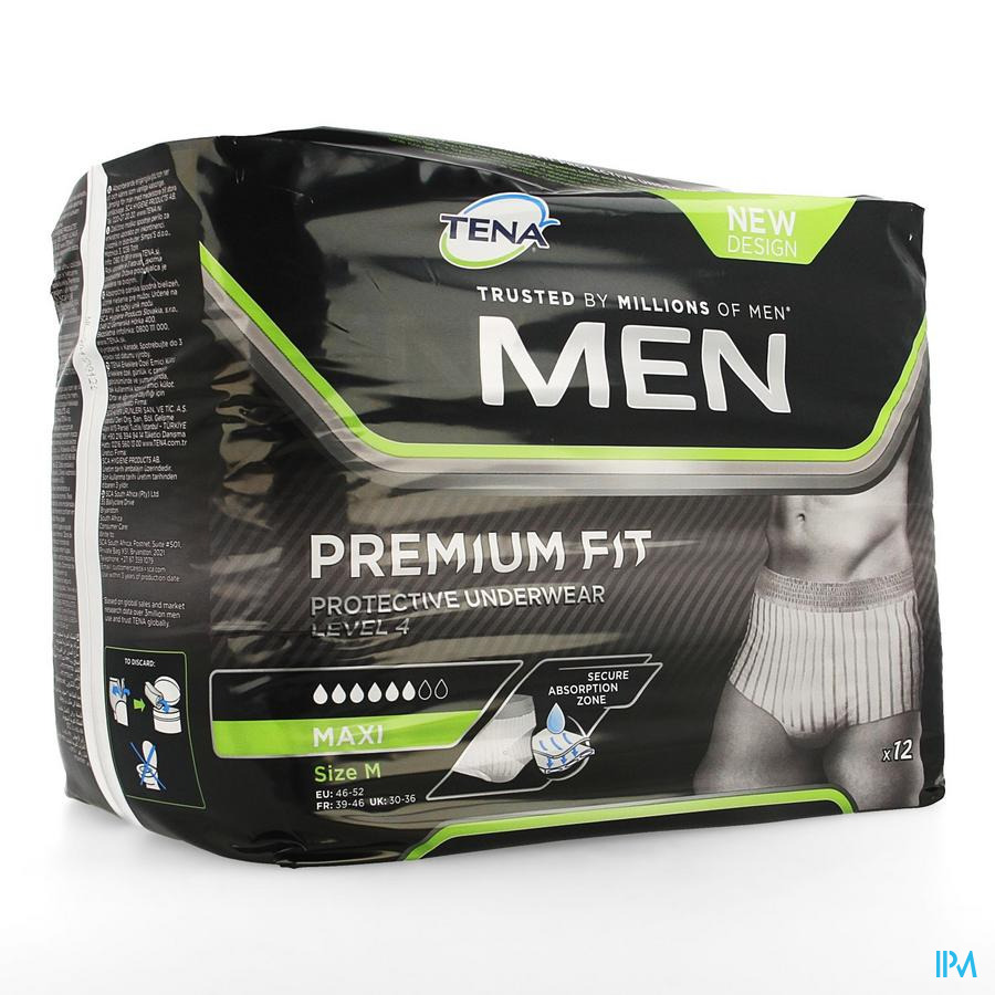 Tena Men Ppu L4 Medium 10 798308