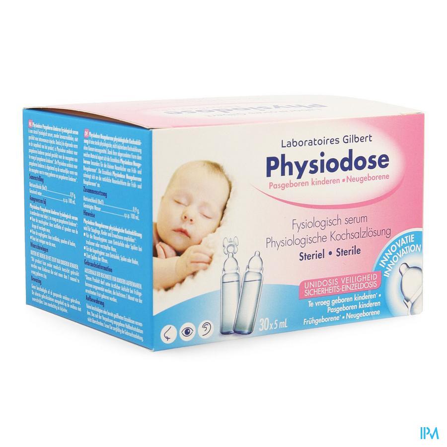 Physiodose Pasgeborene Serum Fysio 30x5ml 626716