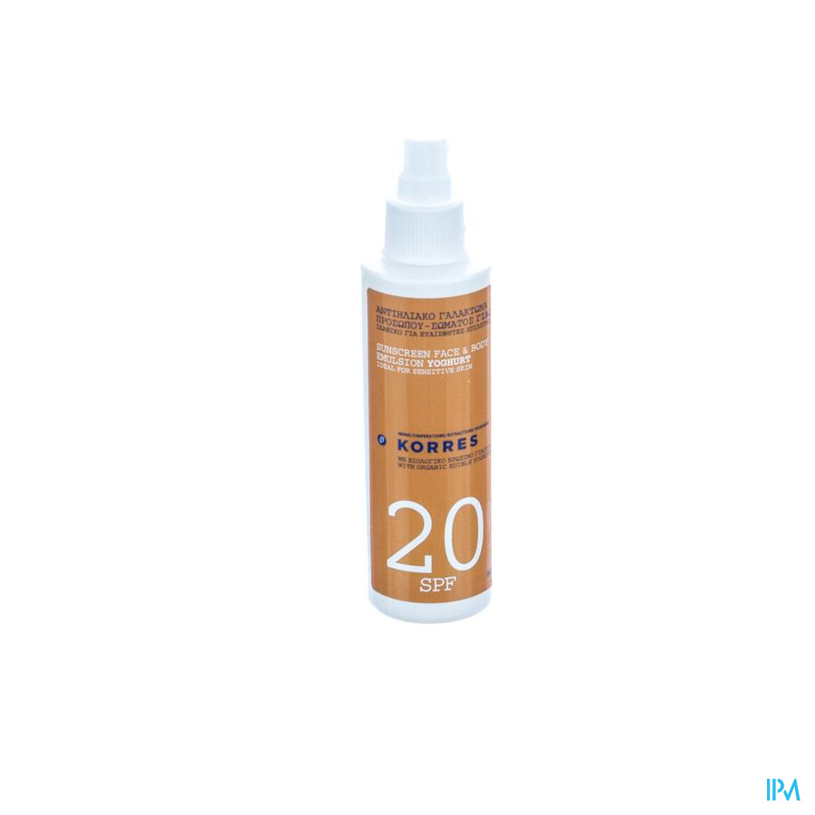 Korres Ks Sun Spray Yogourt Ip20 150ml