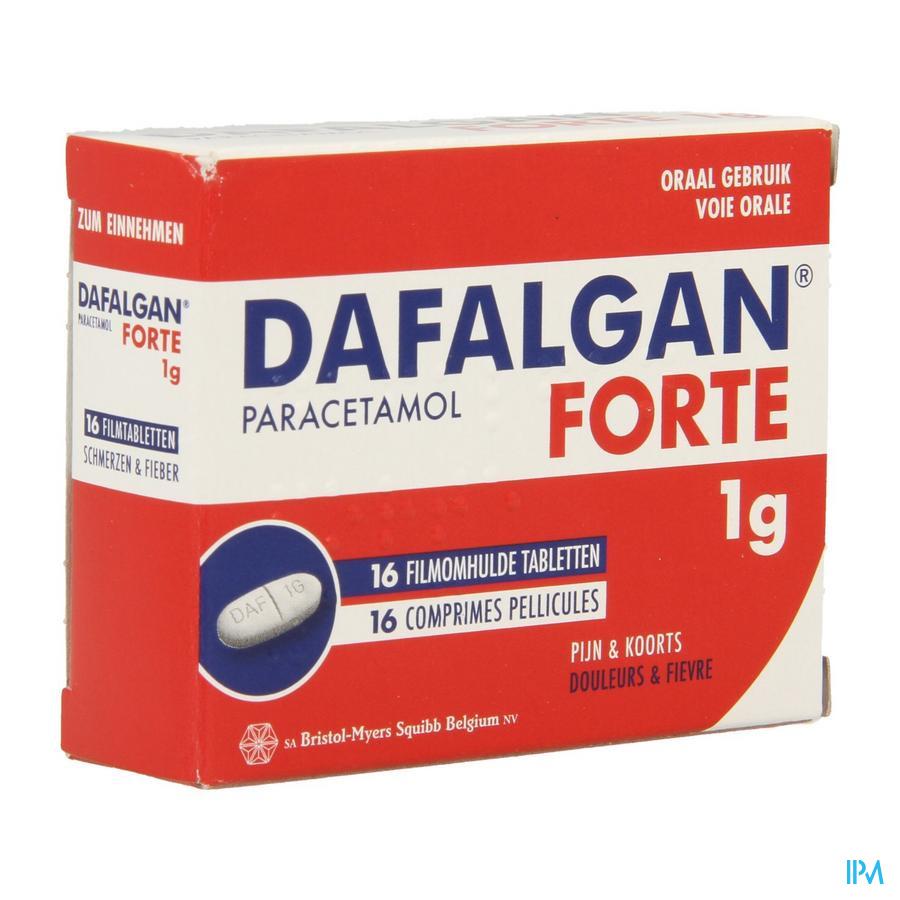 Dafalgan Forte Sec 1g Tabl 16