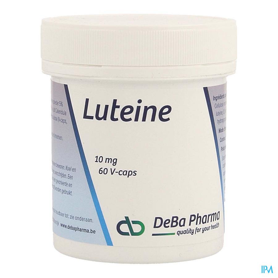Luteine V-Capsule 60x10 mg  -  Deba Pharma