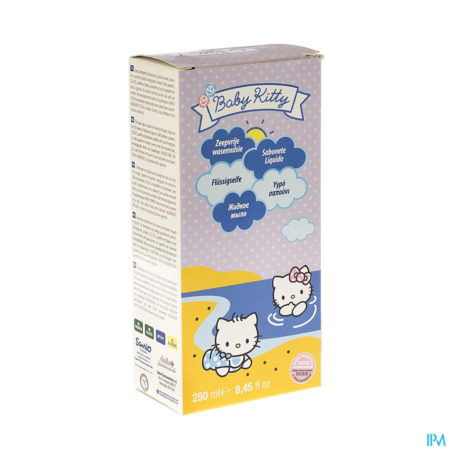 Hello Kitty Baby Vloeibare Zeep 250ml