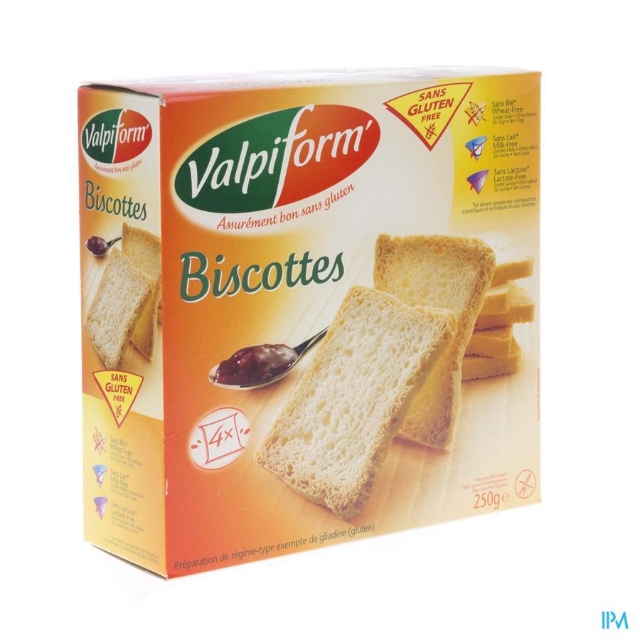Valpi Beschuiten Glutenvrij 250g 6765