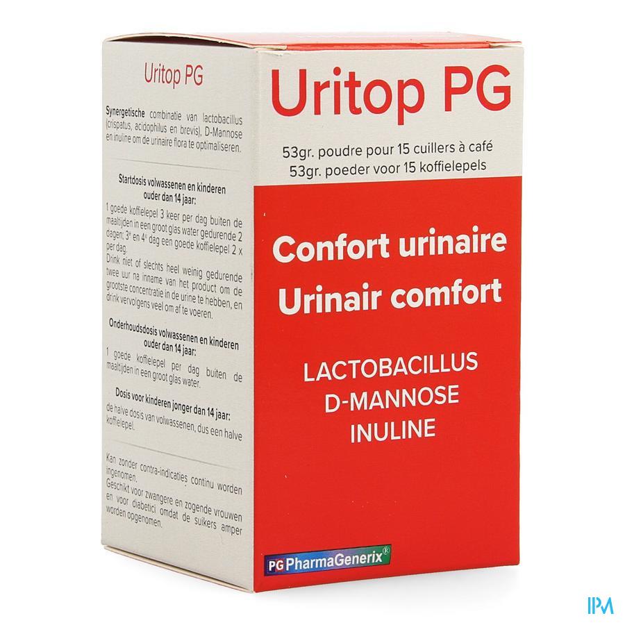 Uritop Pg Pharmagenerix Pdr 52,5g