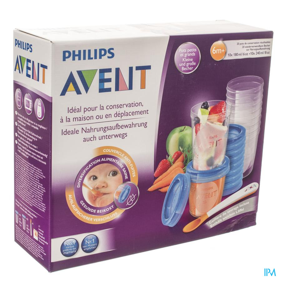 Philips Avent Via Natural Set Gourmet SCF721/20