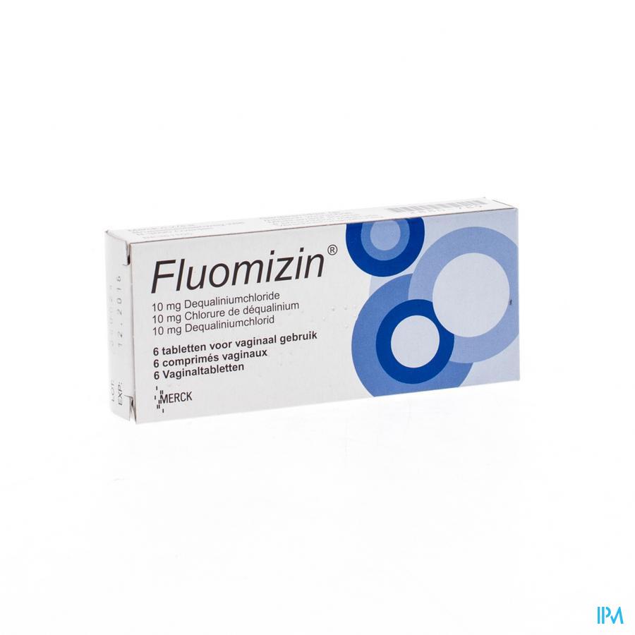 Fluomizin 10mg Comp Vaginaal 6 X 10mg