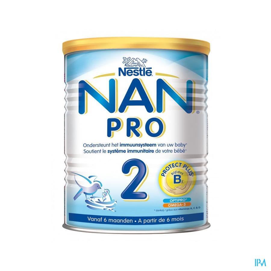 Nan Optipro 2 6-12m Lait De Suite Pdr 800g
