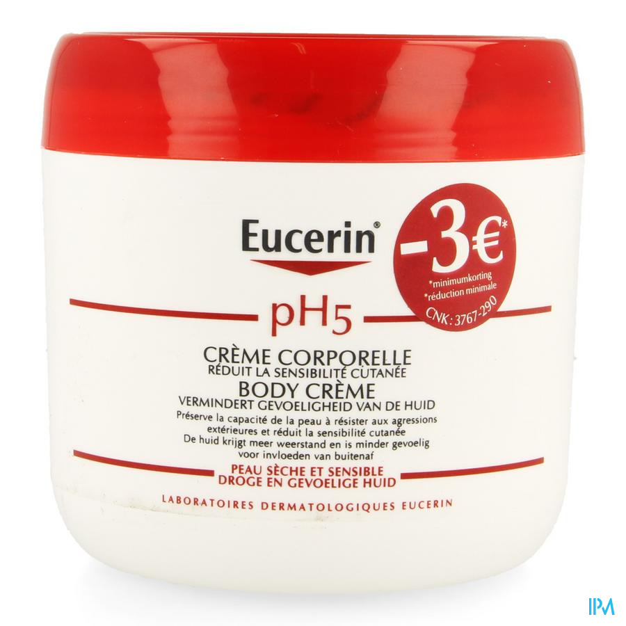 Eucerin Ph5 Body Creme 450ml Promo -3€
