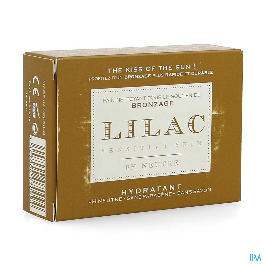 Lilac Pain Nettoyant Soutien Bronzage 100g