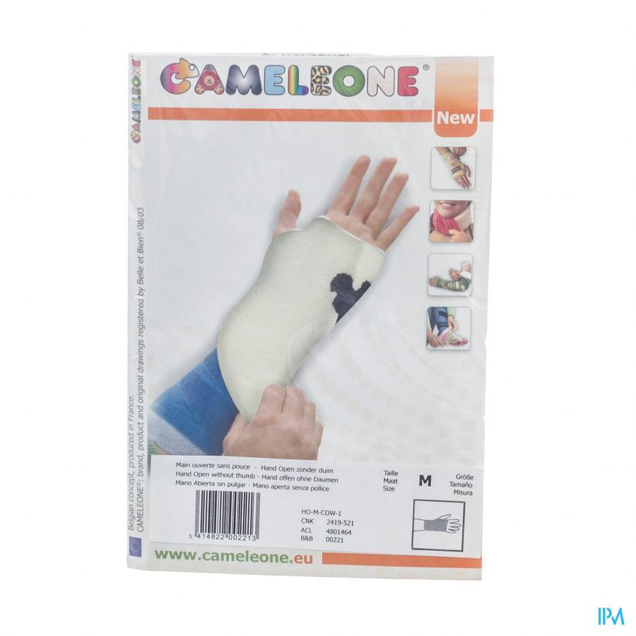Cameleone Hand Open -duim Koe M 1