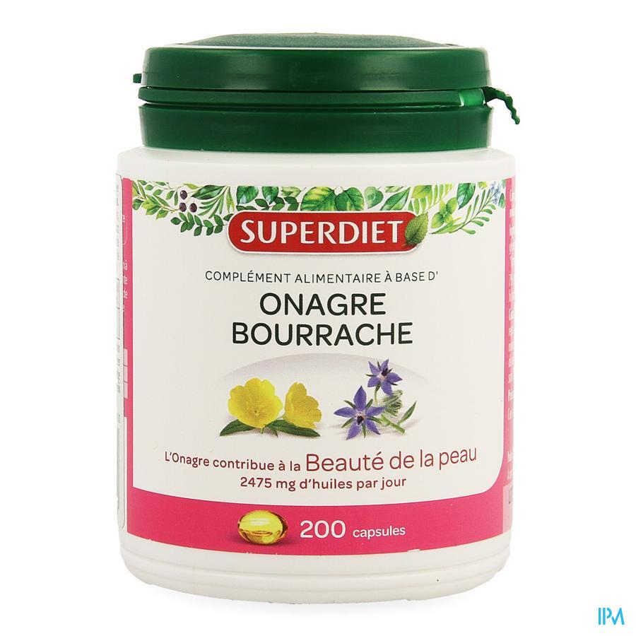 Super Diet Onagre Bourrache Caps 200