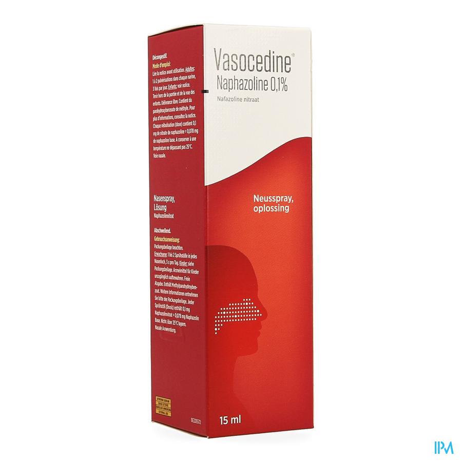 Vasocedine Naphazoline Spray 15ml