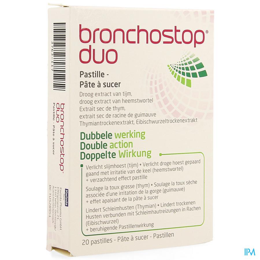 Bronchostop Duo Pastilles 20