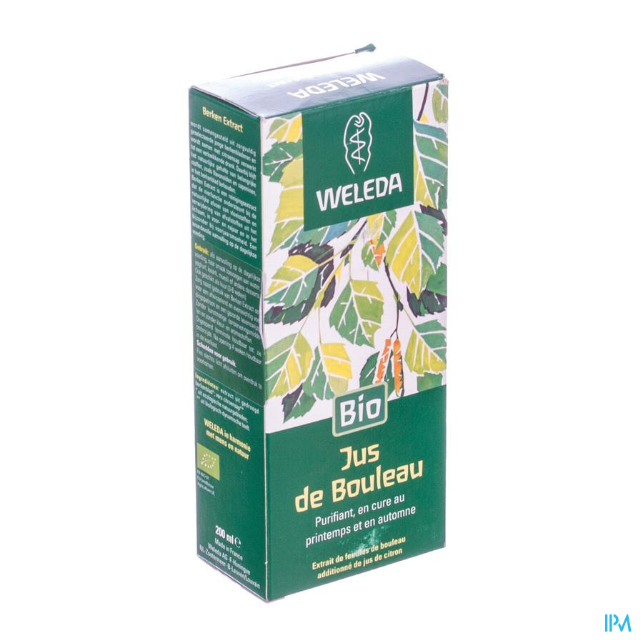 Weleda Berkenbladextract Zs 200ml