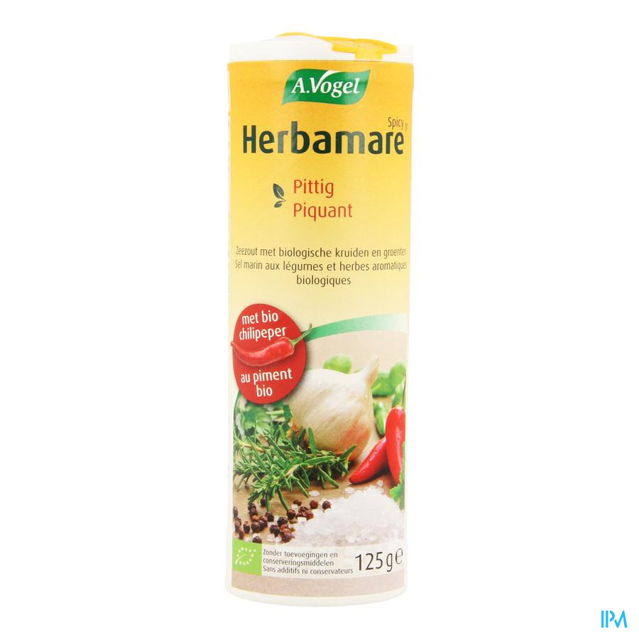 Vogel Herbamare Spicy Pittig 125g