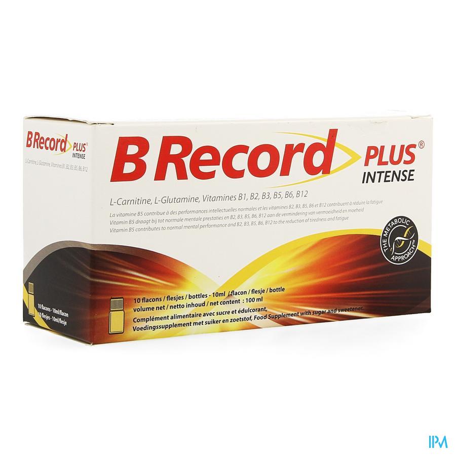 B Record Intense Fioles 10x10ml