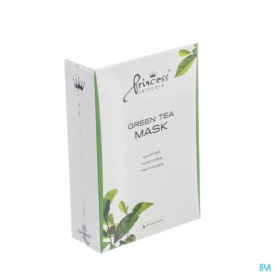Princess Skincare Green Tea Mask 8