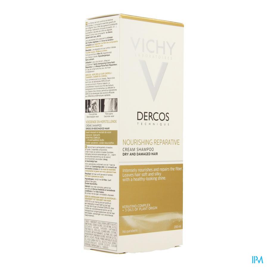 Vichy Dercos Sh Voedend&herstellend 200ml