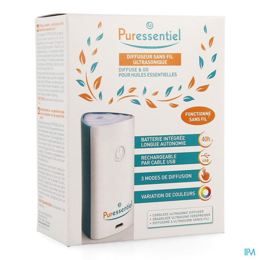 Puressentiel Verspreider Ultrasoon Diffuse&go