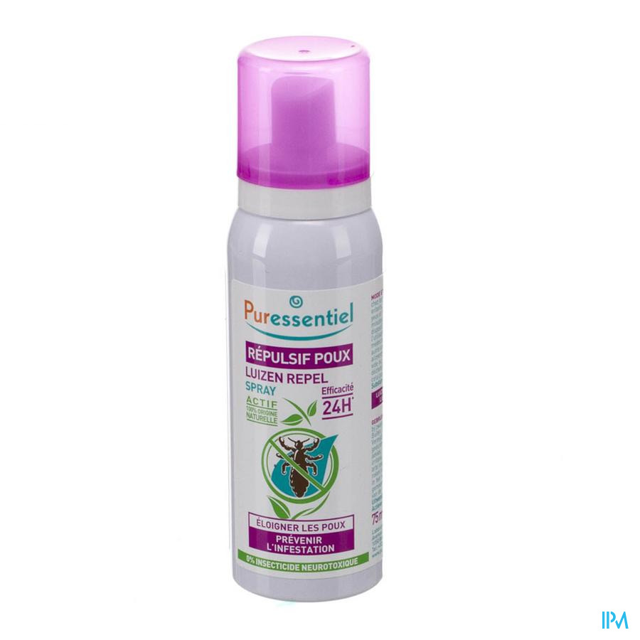 Puressentiel A/luizen Repel Spray 75ml