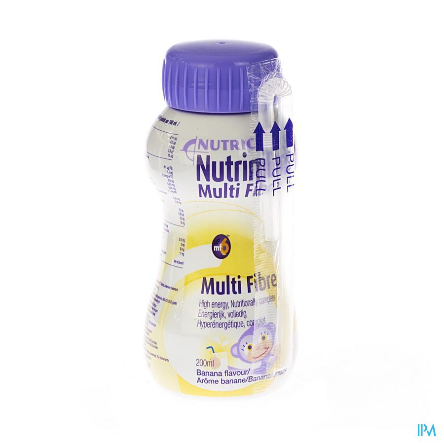Nutrinidrink Banaan Multi F. +12m Flacon 200 ml 65595
