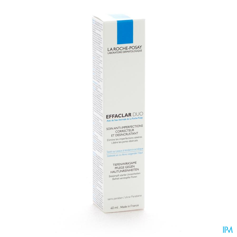 Lrp Effaclar Duo 40ml + Gel 125ml