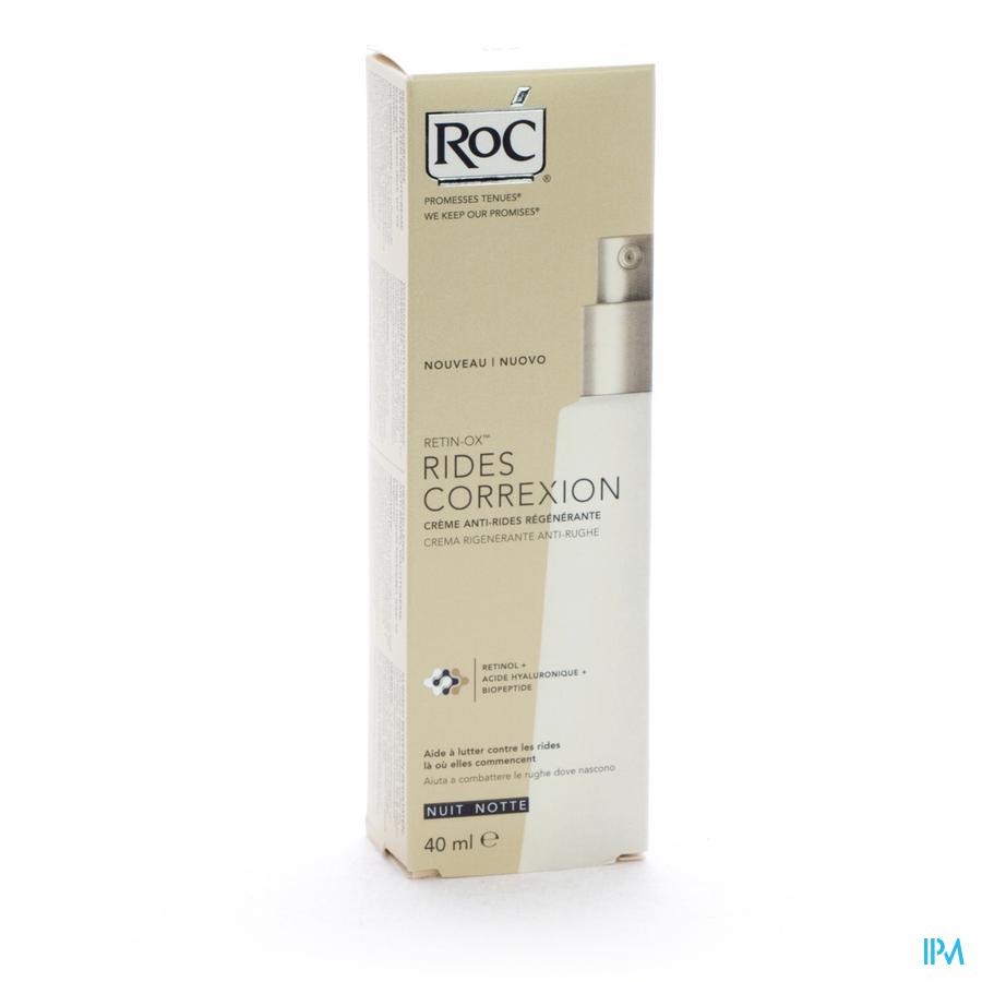 ROC RETIN-OX CORREXION A/RIMPEL NACHTCR 40ML