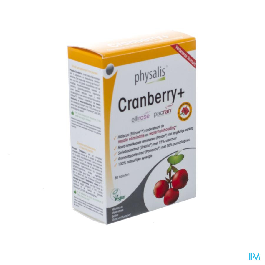 Physalis Cranberry+ Nf Comp 30
