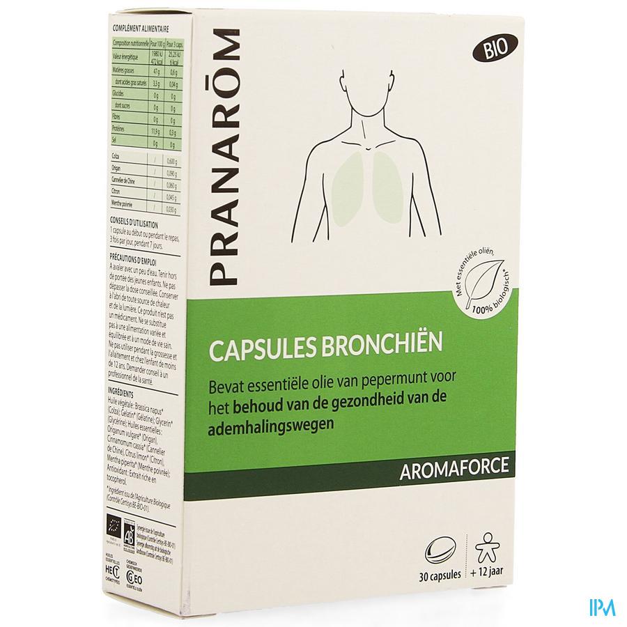 Aromaforce Bio Bronchien Caps 30