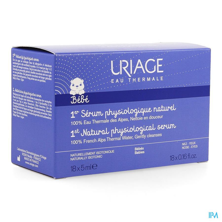 Uriage Isophy Serum Physio Naturel Unidose 20x5ml