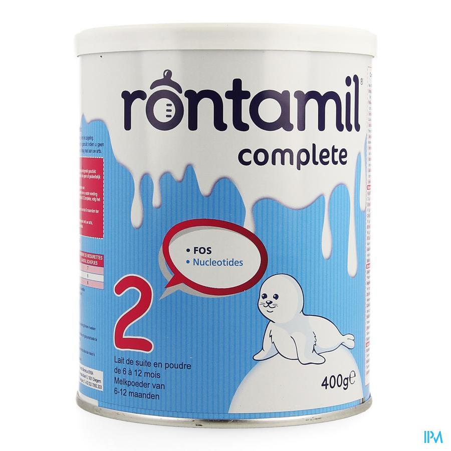 Rontamil 2 Complete Zuigel. Melk 6-12m Pdr 400gr