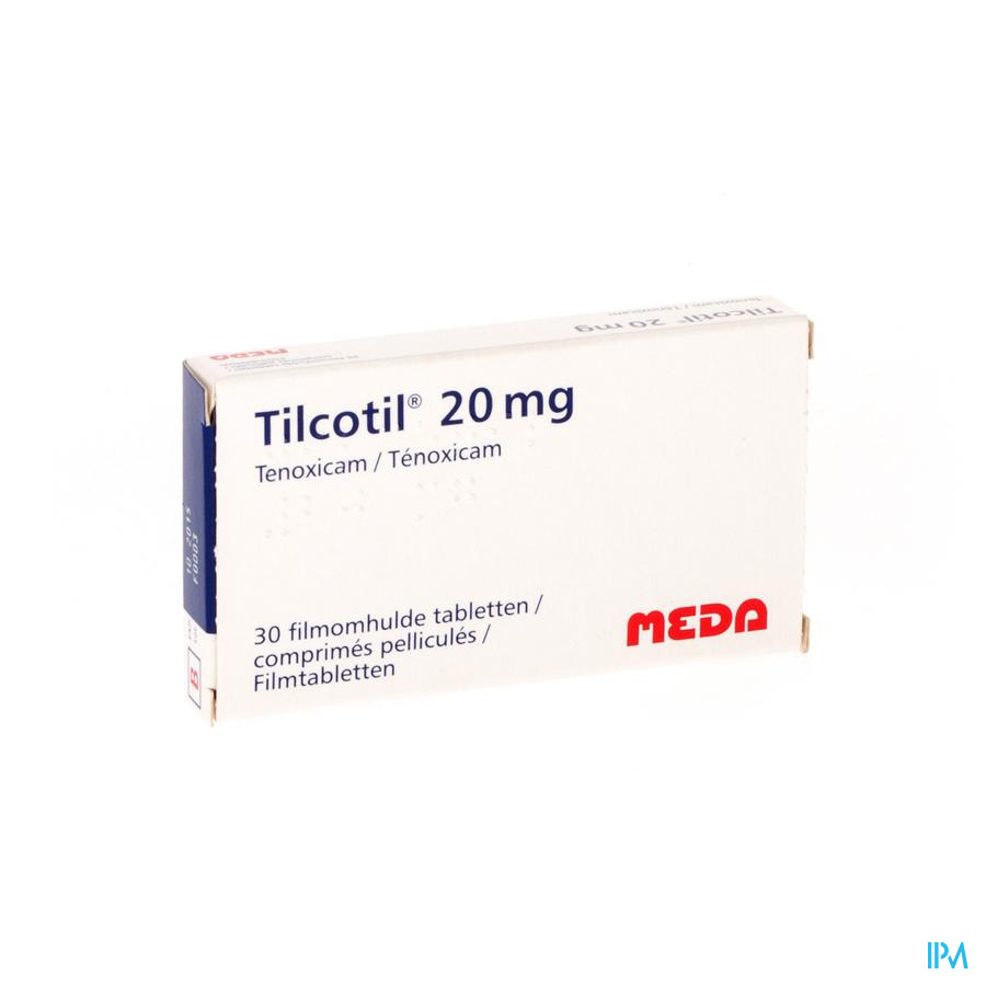 Tilcotil Comp Sec 30 X 20mg