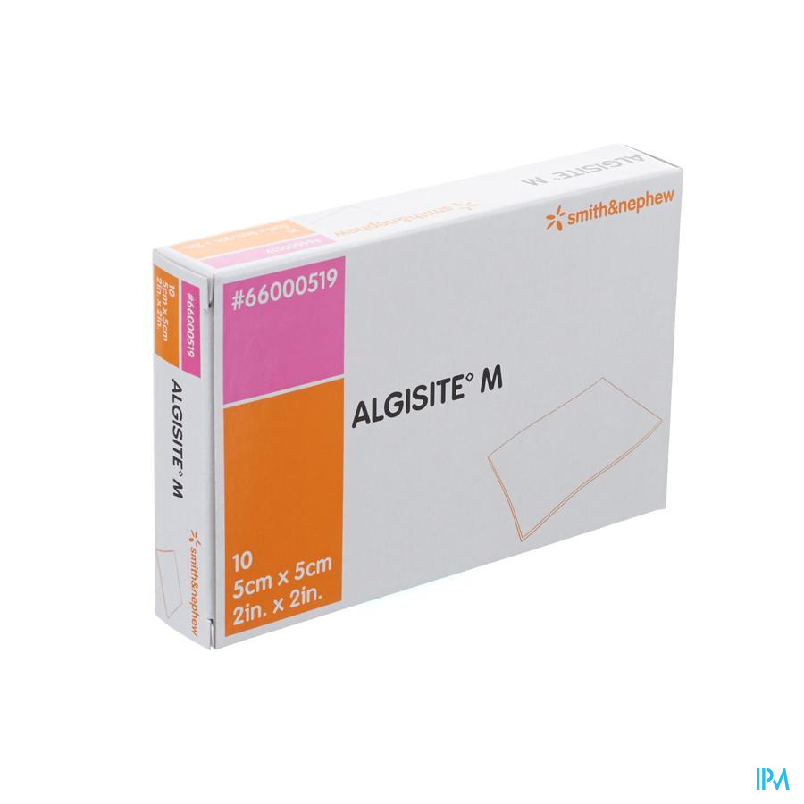 Algisite M Pans Algin.Ca 5X 5Cm 10 66000519 - Smith Nephew