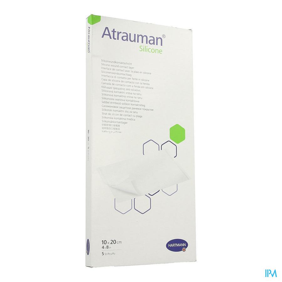 Atrauman Silicone 10x20cm 5 P/s