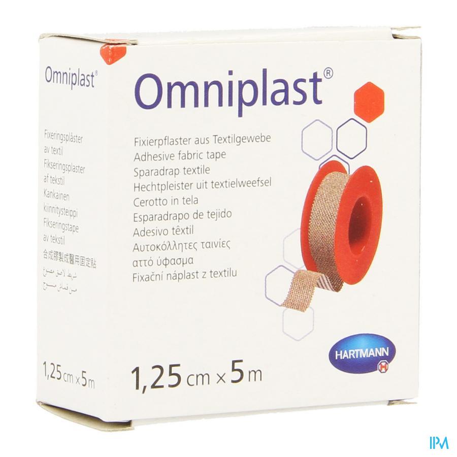Omniplast 1,25cmx5m 1 P/s - Hartmann