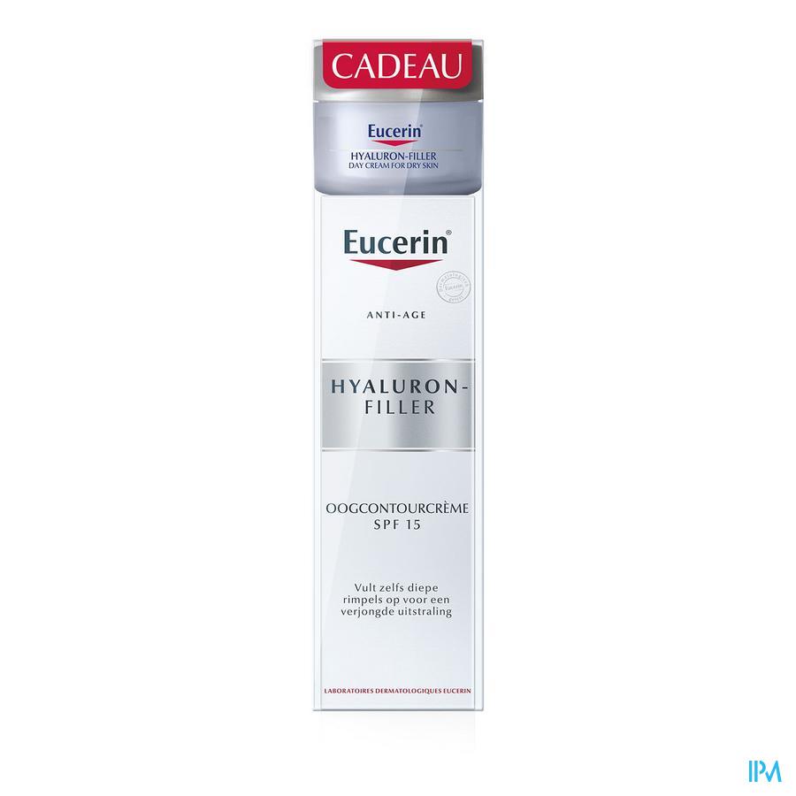 Eucerin Hyaluron Fil.cont.yeux 15ml+madurodam 20ml
