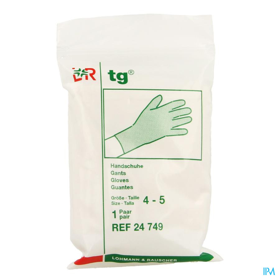 Tg Handschoen 100% Katoen Individueel Verpakt24749