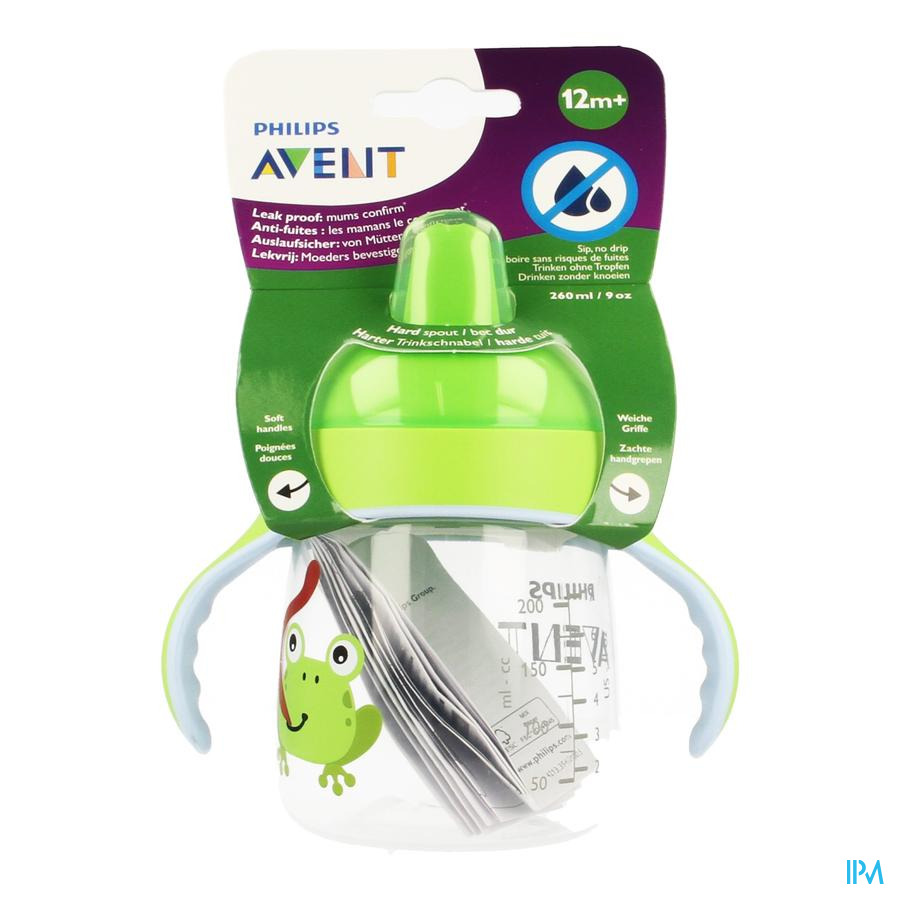 Philips Avent Gobelet A/fuite Crabe 260ml SCF753/08