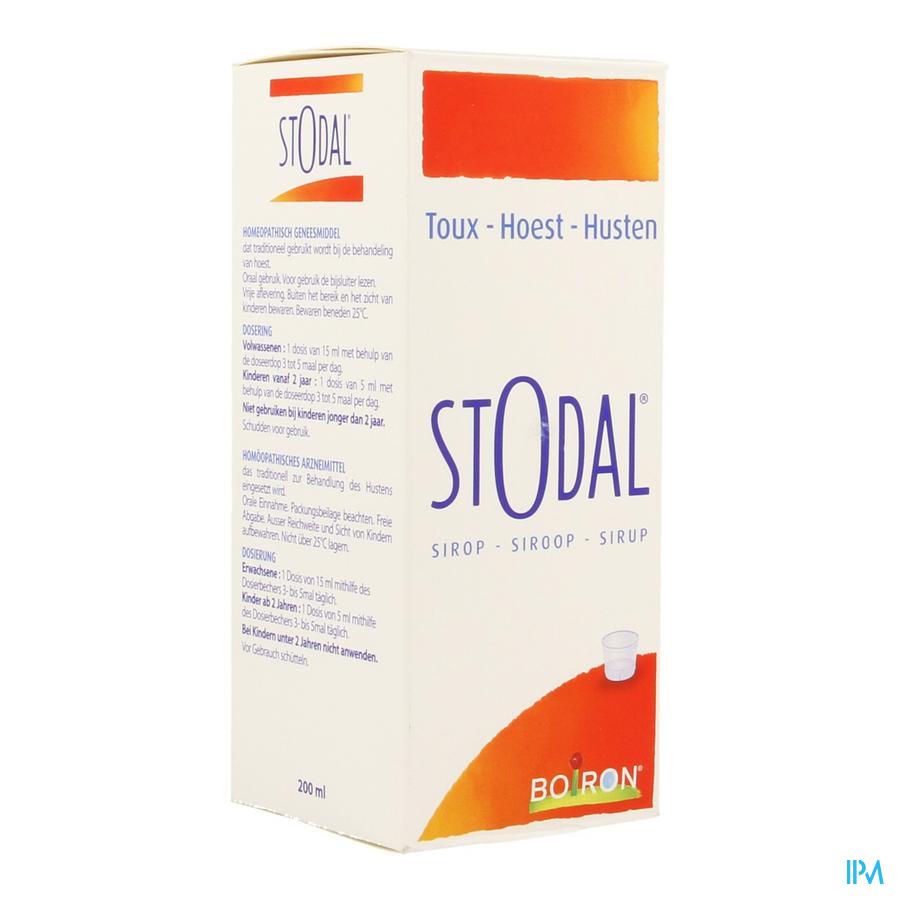 Stodal Sirop 200ml Boiron