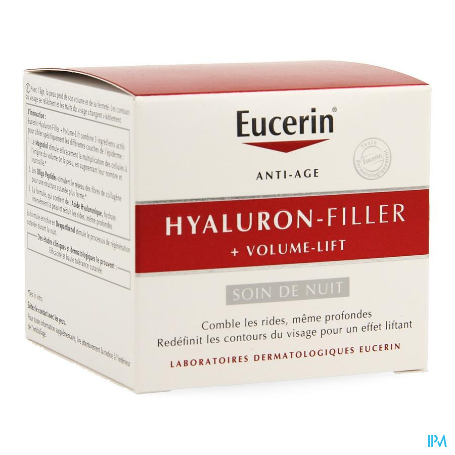 Eucerin Hyaluron Filler + Volume Lift Cr Nuit 50ml