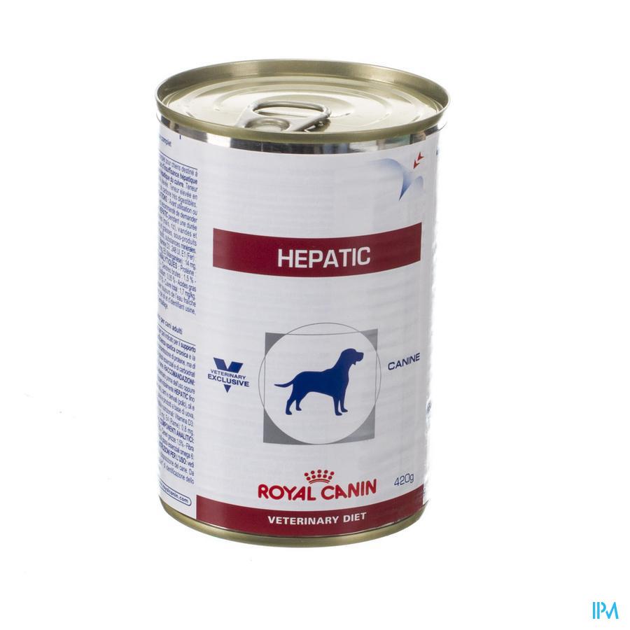Vdiet Hepatic Canine 12x420g