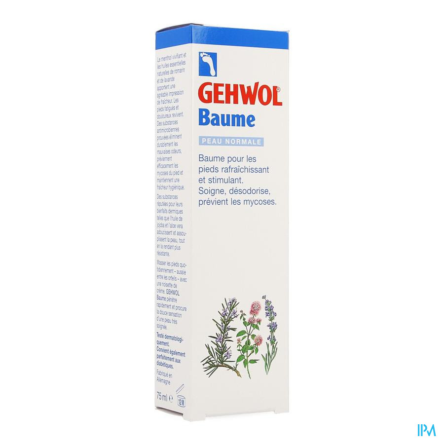 Gehwol Baume Peau Normal 75ml