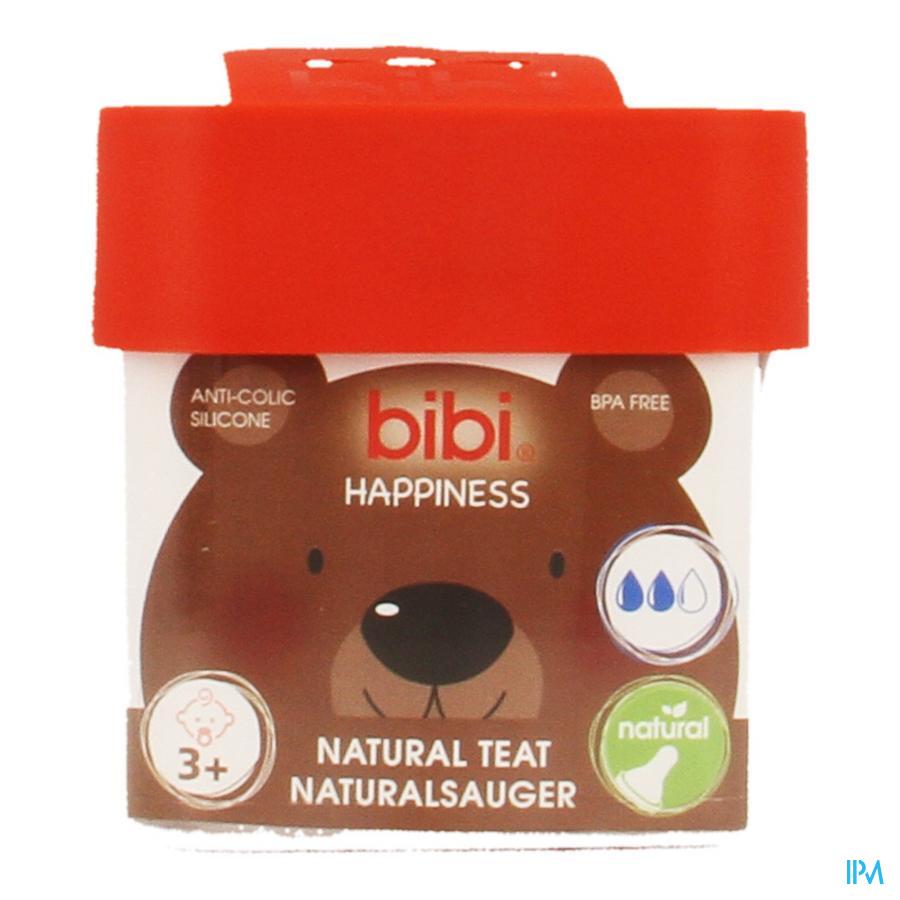 Bibi Zuigspeen Happiness Fles 3+