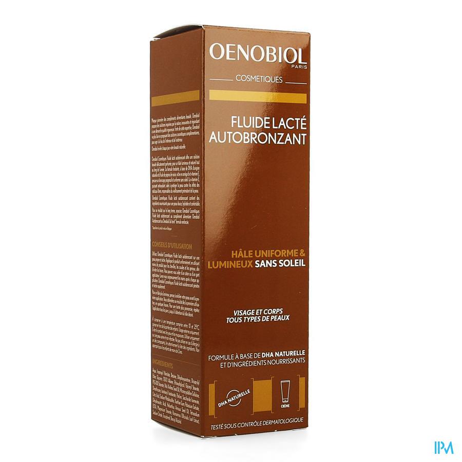 Oenobiol Cosmetiques Fluide Lacte Autobronz. 100ml