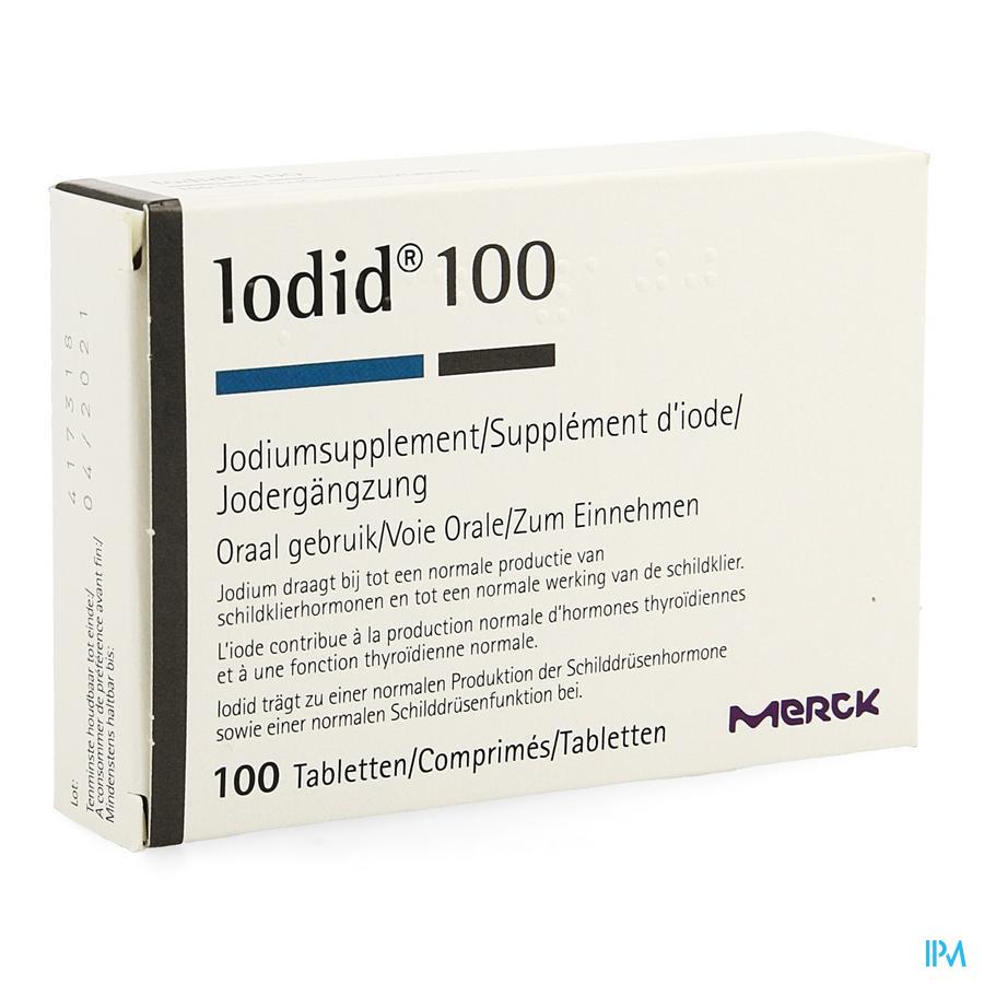 Iodid Tabl 100x100ug