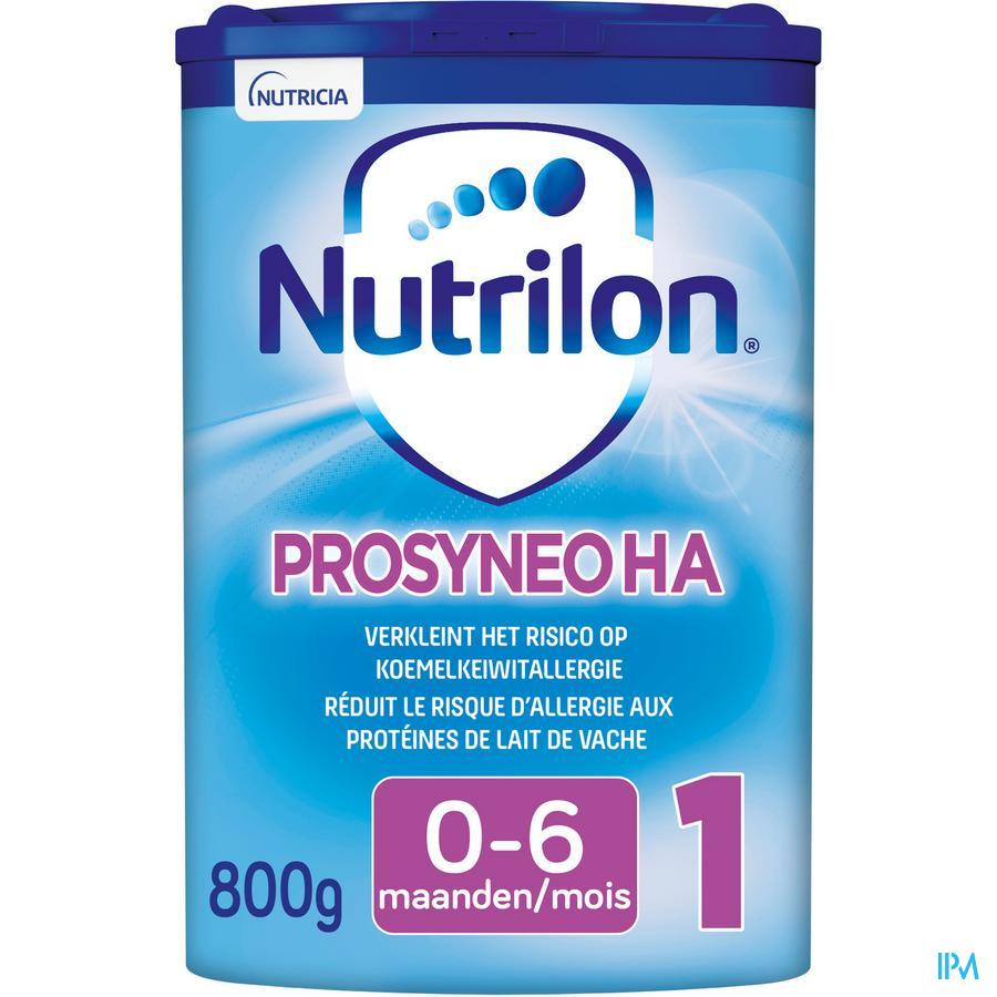 Nutrilon Prosyneo HA 1 poudre 800g Préparation pour nourrissons