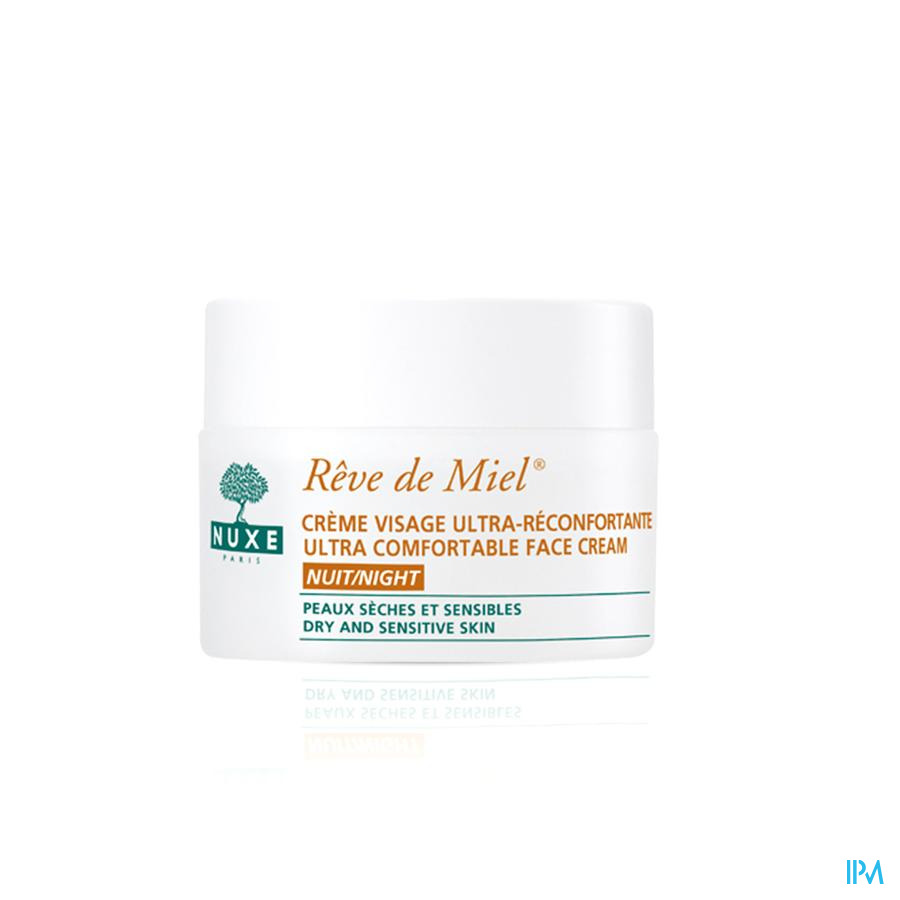 Nuxe Reve De Miel Cr Ultra Reconf.nuit Pot 50ml